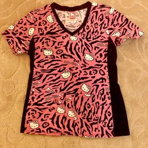 Tops - Hello Kitty Scrub top